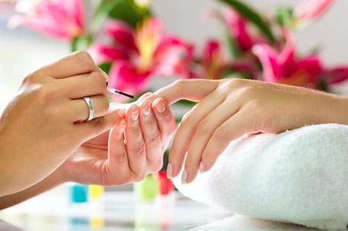 Manicures at the Spa